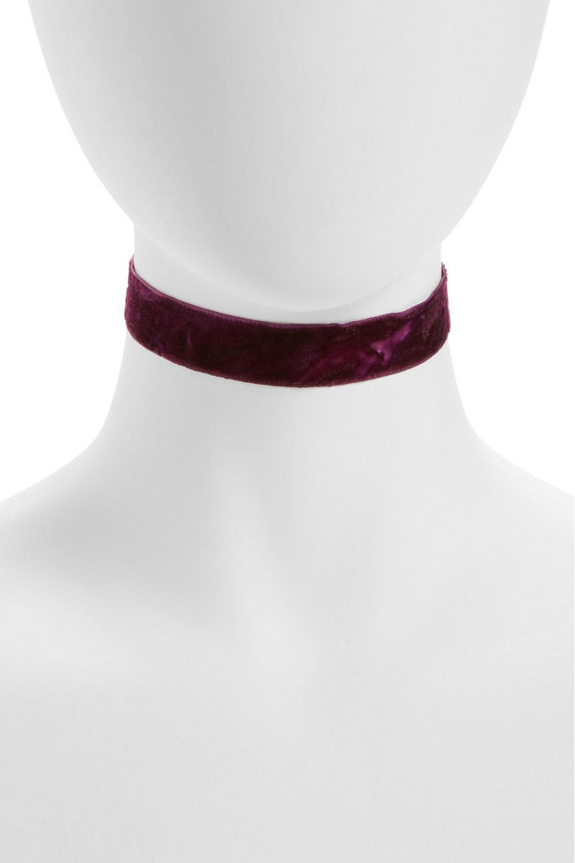 Crushed Velvet Choker