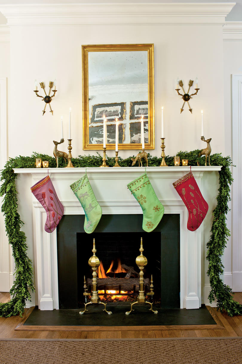 Living Room Decorated For Christmas our favorite living rooms decorated for christmas - southern living