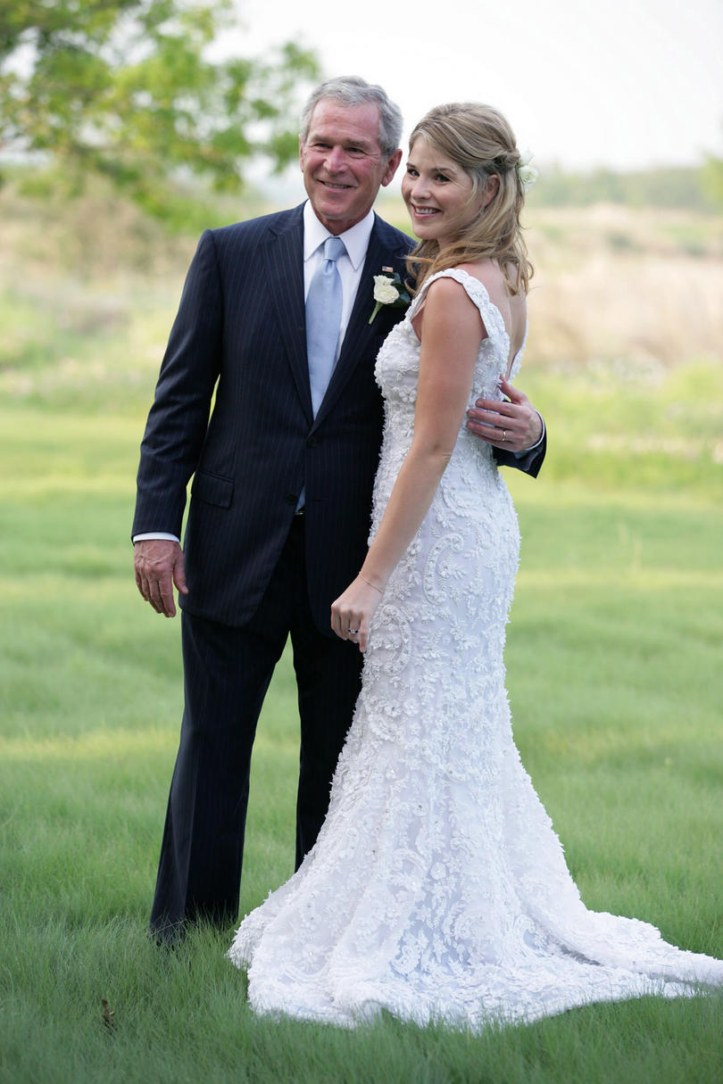 17 iconic southern wedding dresses southern living jenna bush hager ombrellifo Gallery