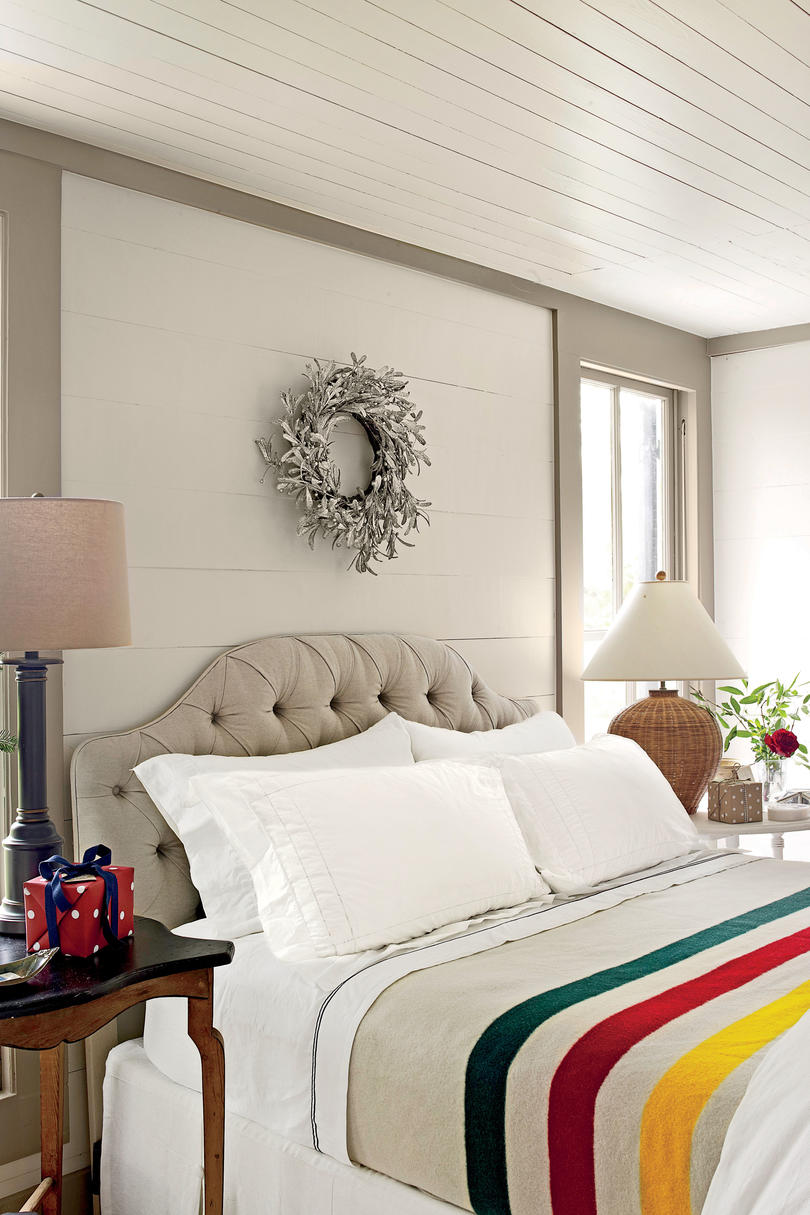 Putnam Master Bedroom Bedrooms Decorated for Christmas