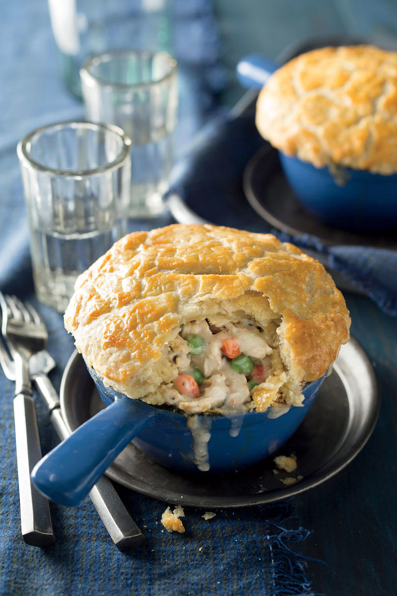 Southern dishes everyone should know how to make southern living double crust chicken pot pies forumfinder Images