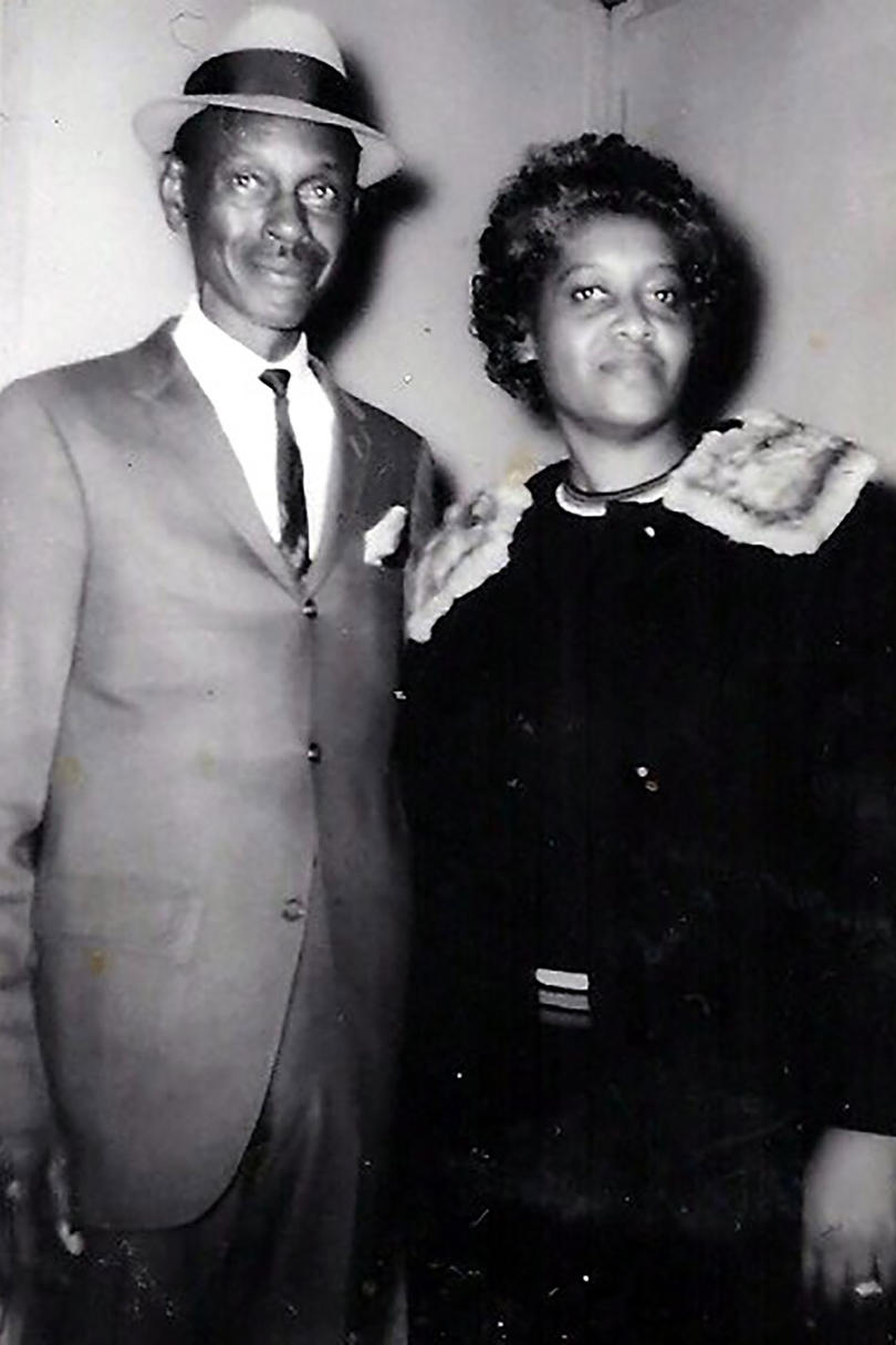 Leon Brown and Elsie Marine Robinson
