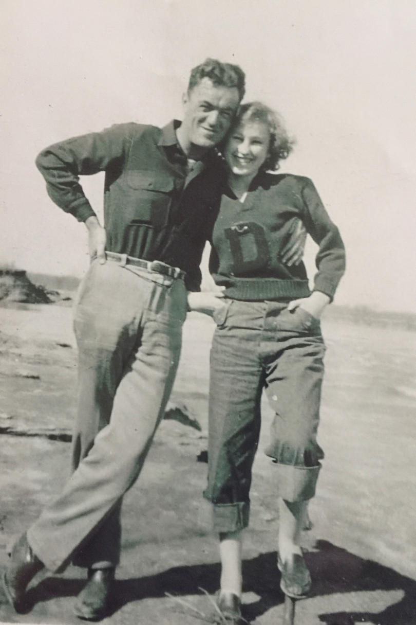 Warren and Mattie Sanders