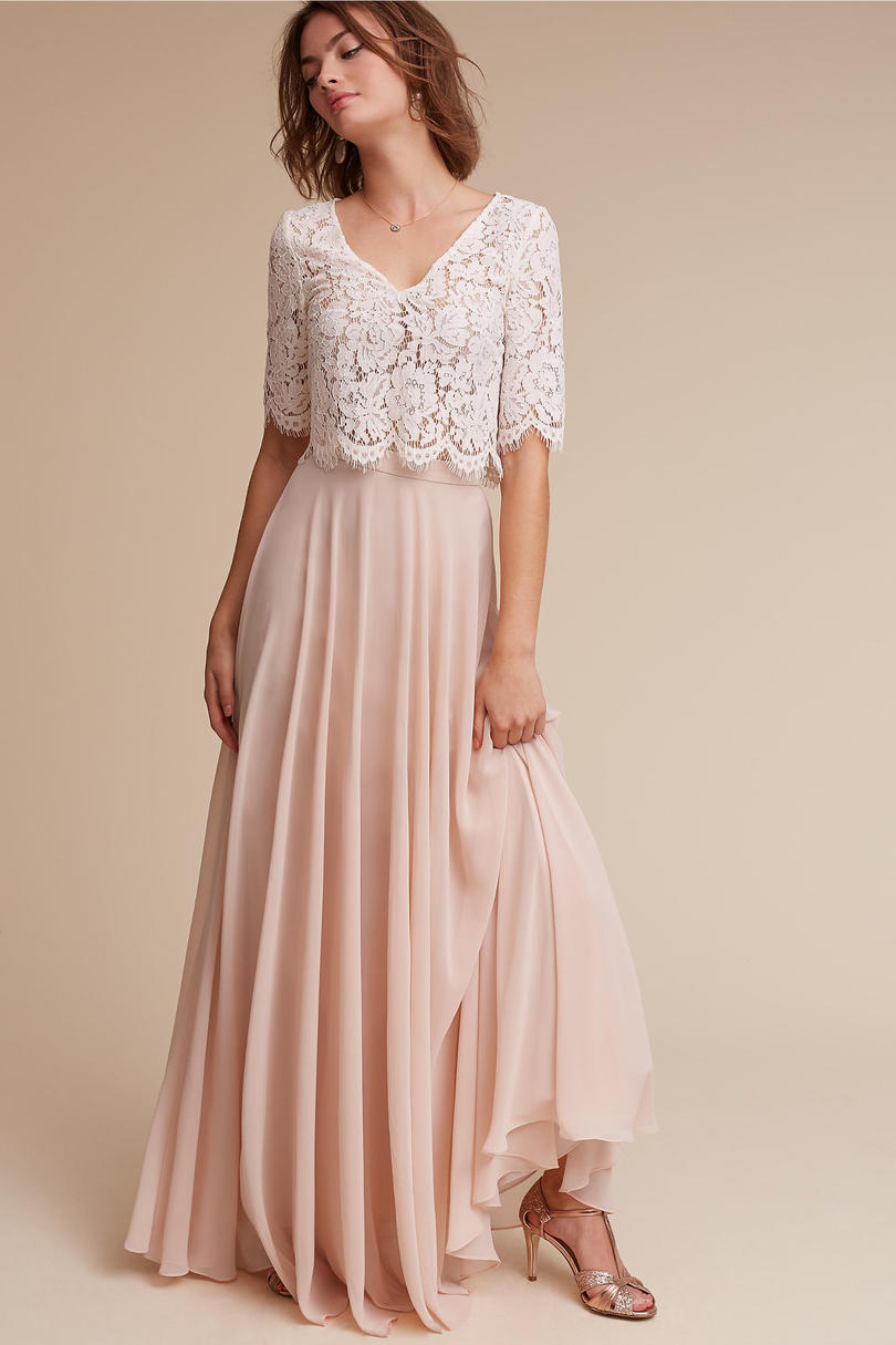 7 bridesmaid dress trends for 2017 southern living 2017 bridesmaid dress trends separates 1 ombrellifo Images