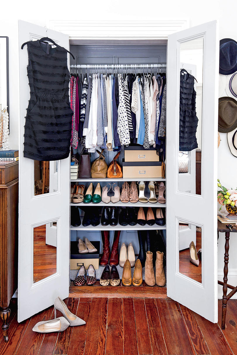 Exceptional Shoe Shelves In Closet