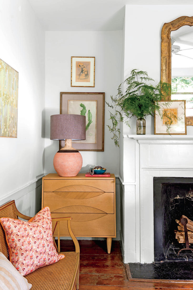 our best small space decorating tricks you should stealplay with recessed spaces small dresser in nook