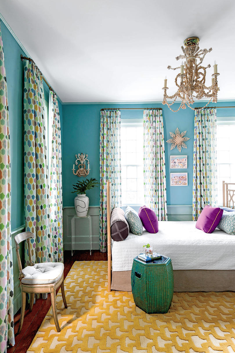 Turquoise Room with Daybed