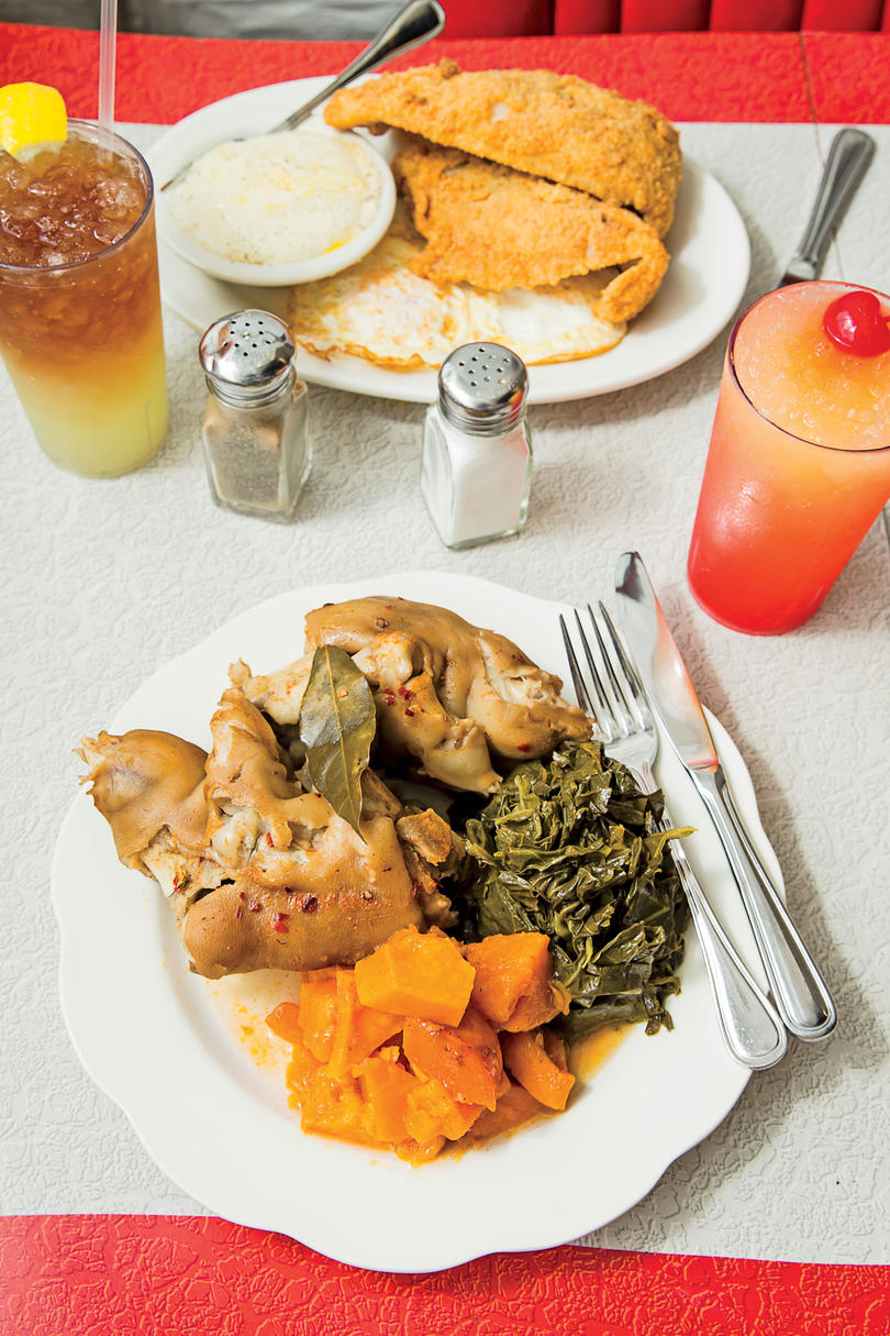 Pig's Feet, Greens, and Yams: Florida Avenue Grill