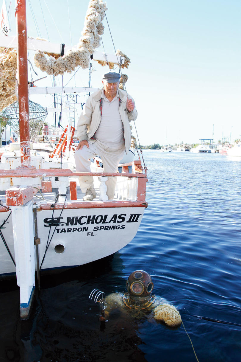 See the Sponge Docks: Tarpon Springs