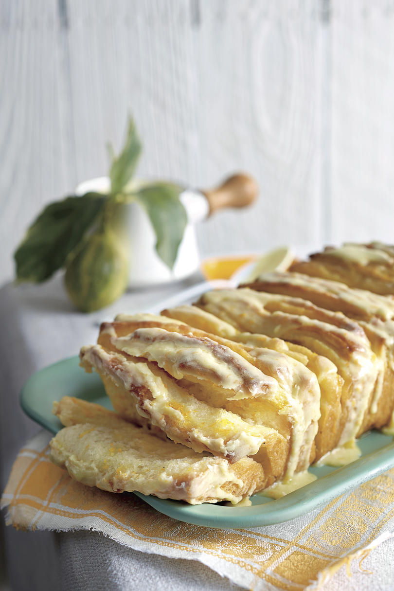 Best Lemon Recipes Citrus Pull-Apart Bread