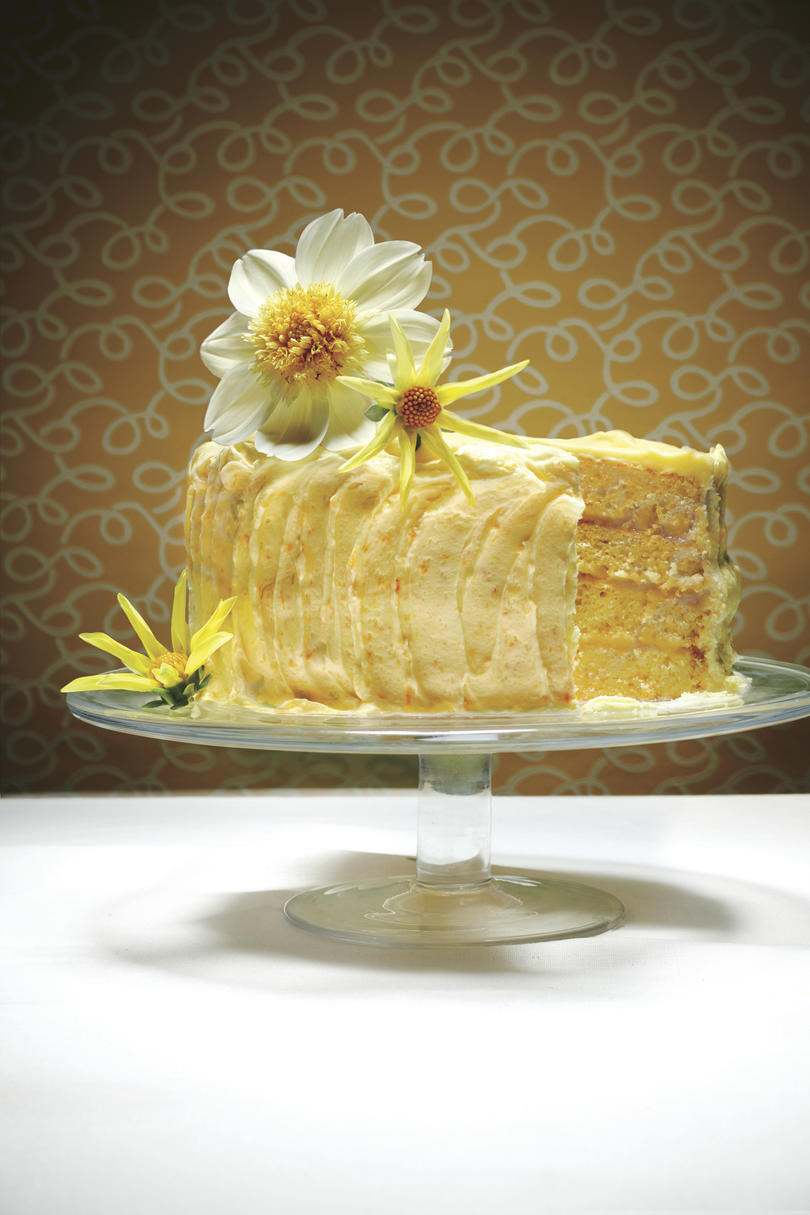 Best Lemon Recipes Lemon Cheese Layer Cake