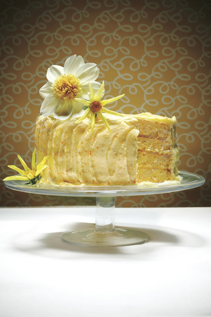 Lemon Cheese Layer Cake