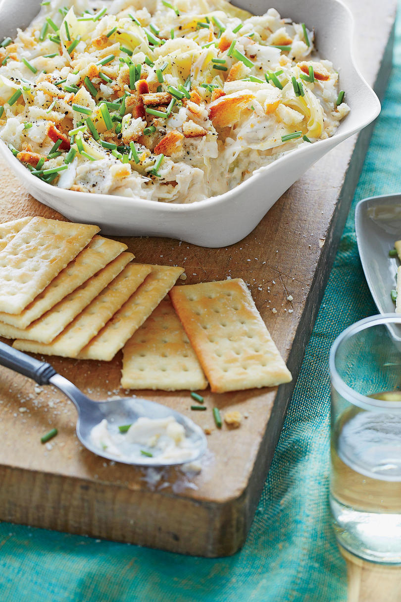 Artichoke and Crab Meat Dip