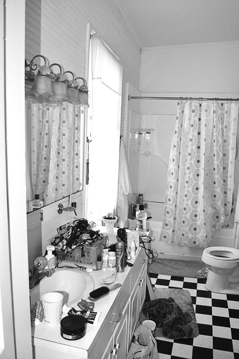Charleston Victorian Bathroom Before