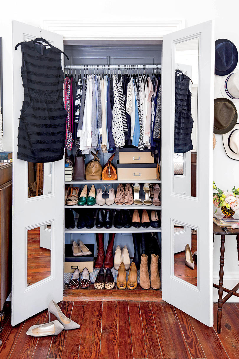 Clutter Free Home the closet