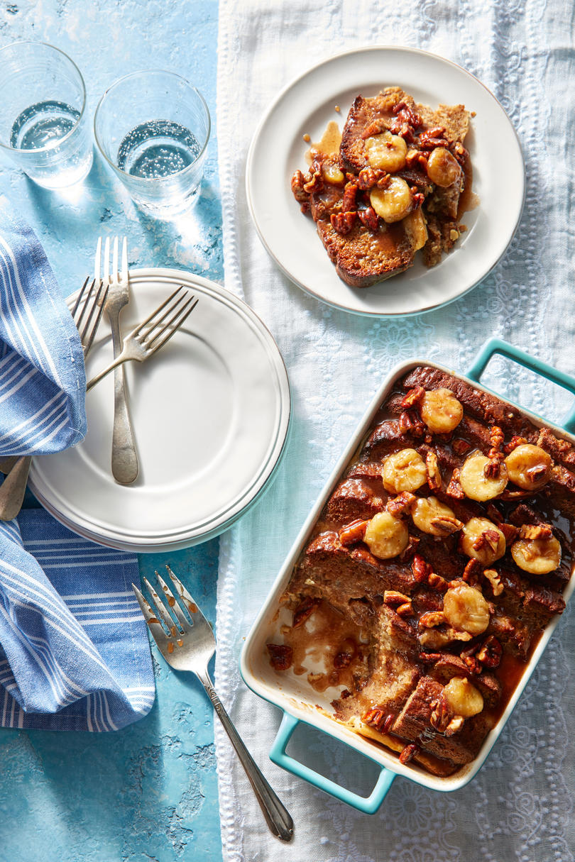 Banana Bread French Toast Casserole