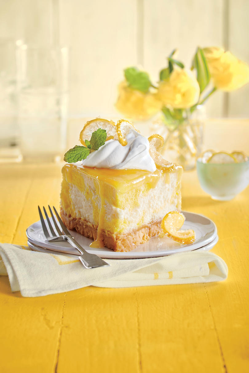 RX_1702_Dreamy Lemon Cheesecake_Cheesecake Recipes