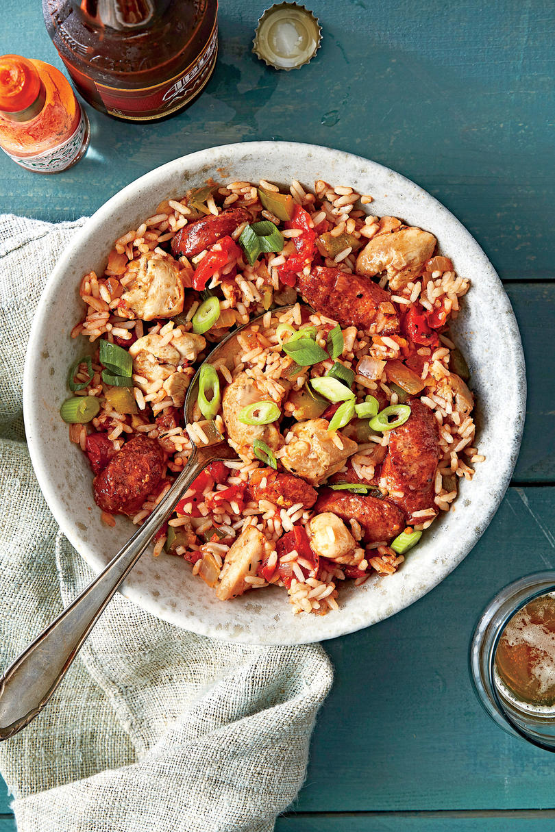 Wednesday: Chicken and Sausage Jambalaya