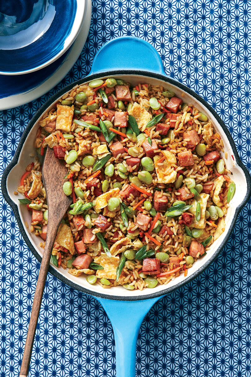 Wednesday: Ham and Lima Bean Fried Rice