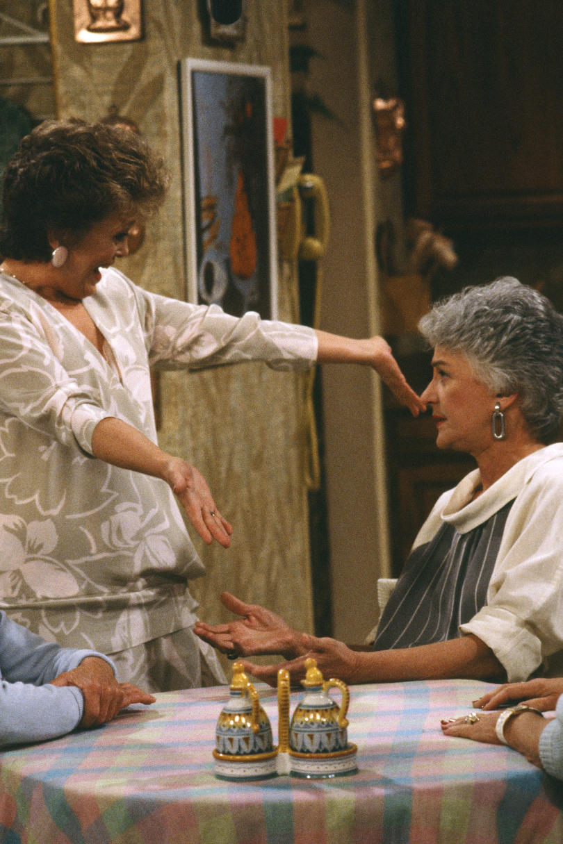 Dorothy Golden Girls on age