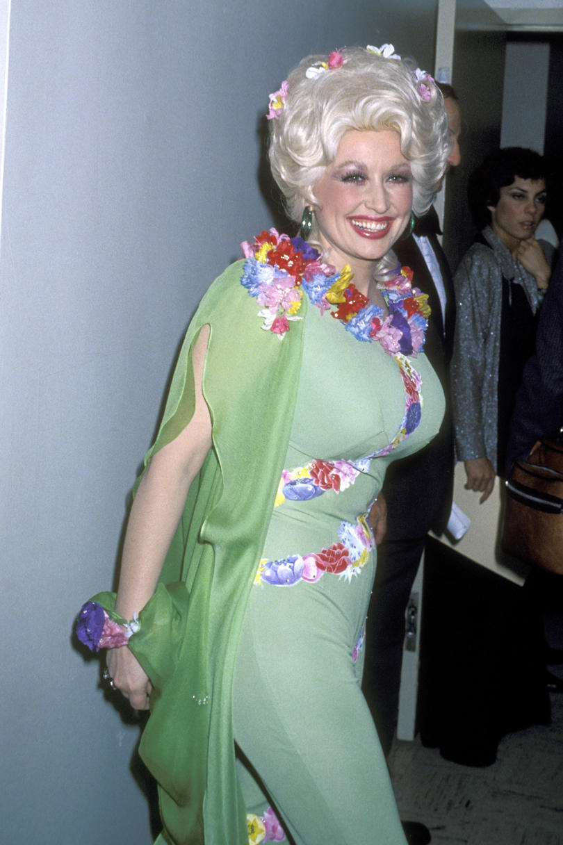 Dolly Parton Red Carpet 1978