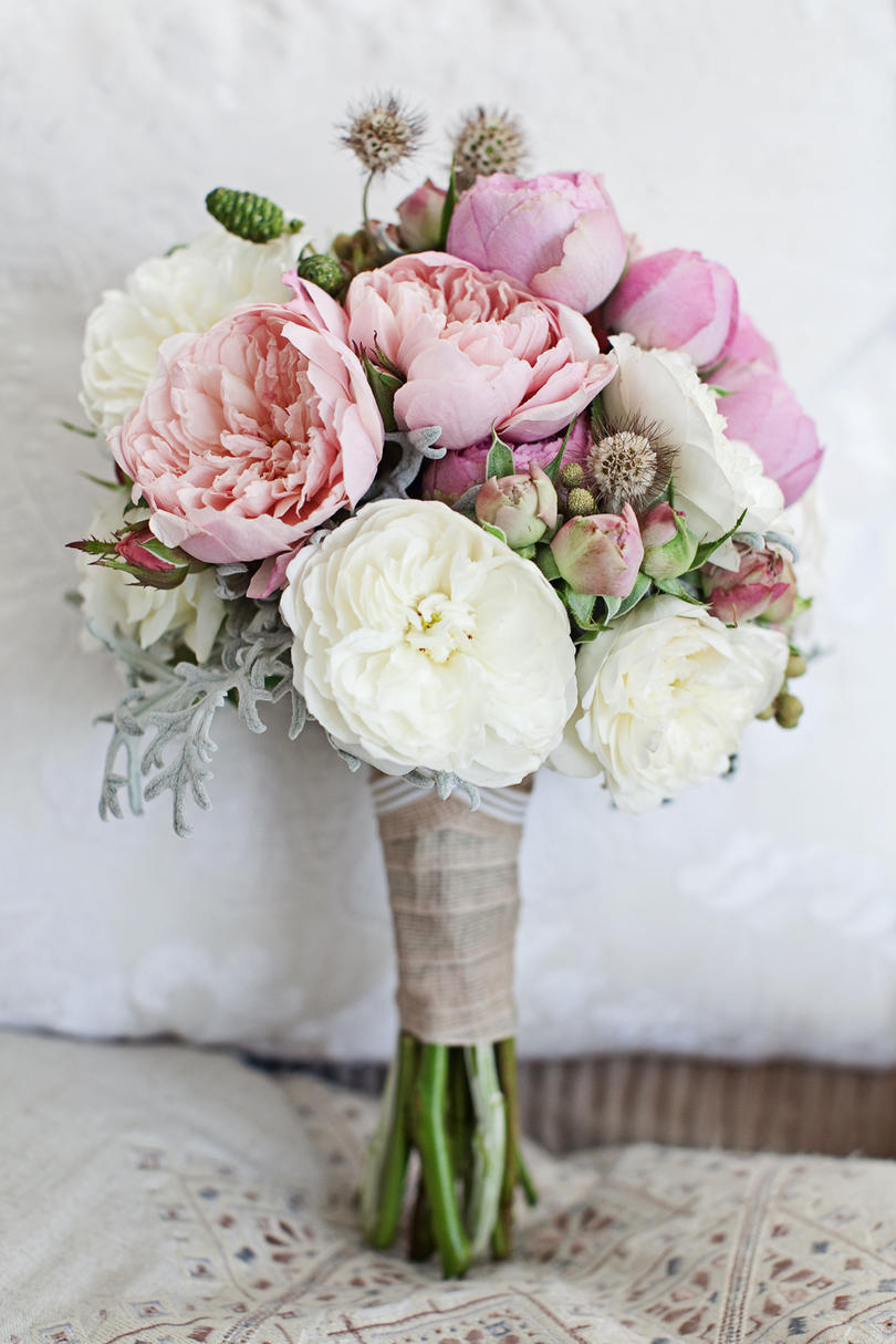 Peonies make the best bouquets