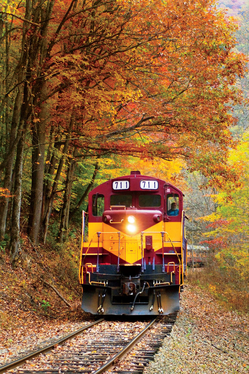 Great Smoky Mountain Railroad in Bryson City, North Carolina
