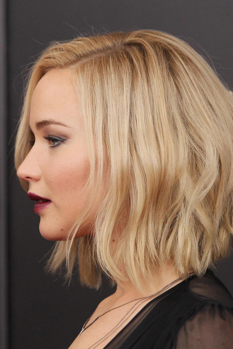 short cut hair style the best cut for every shape southern living 9056 | jennifer lawrence short hair 497800384