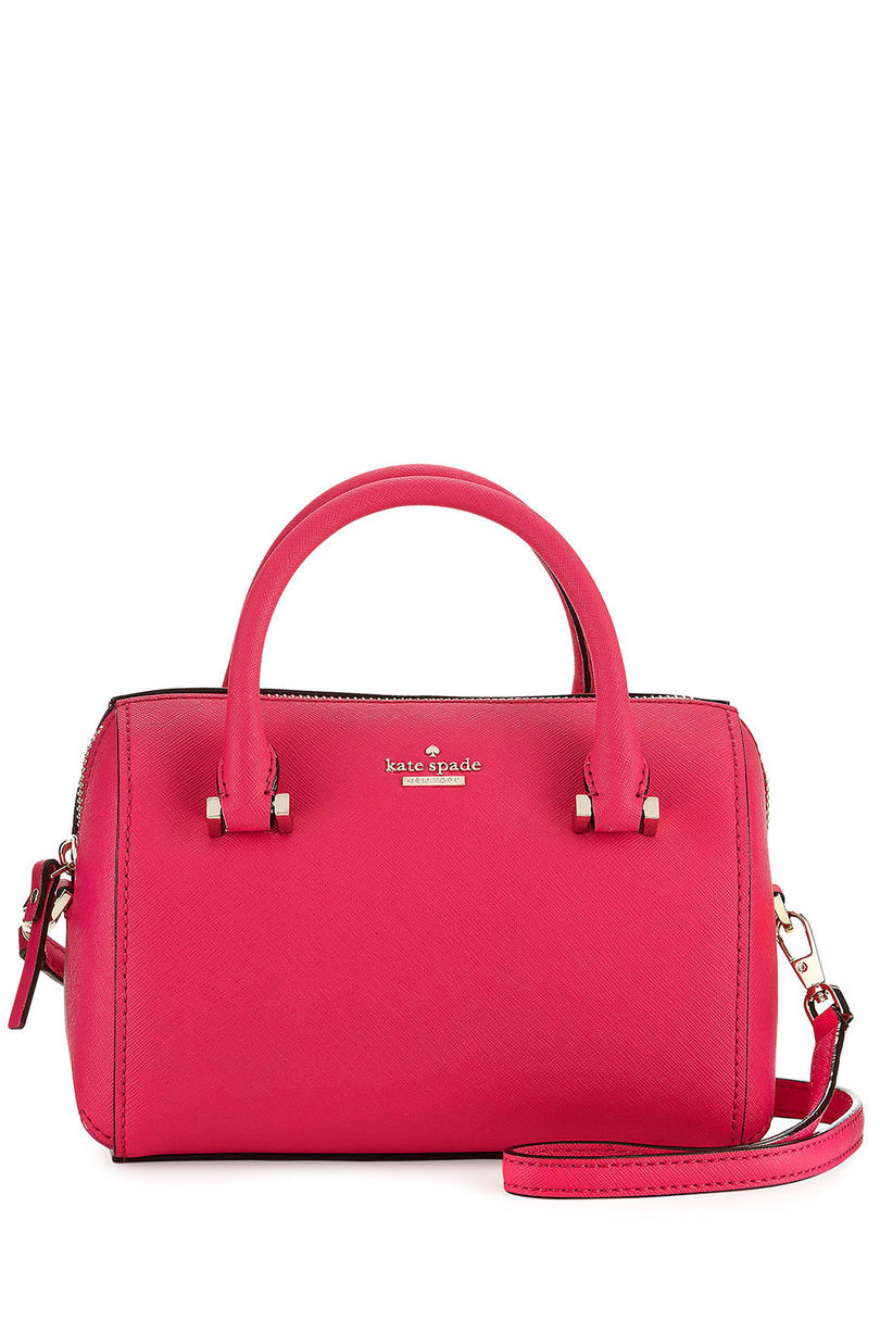 Kate Spade Pink Confetti Satchel