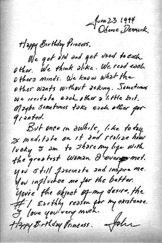 Johnny and June love letters