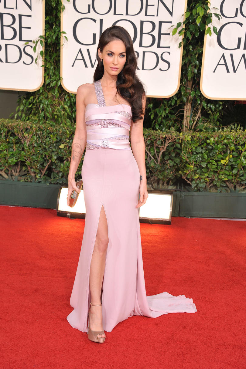 Megan Fox 2011 Golden Globes