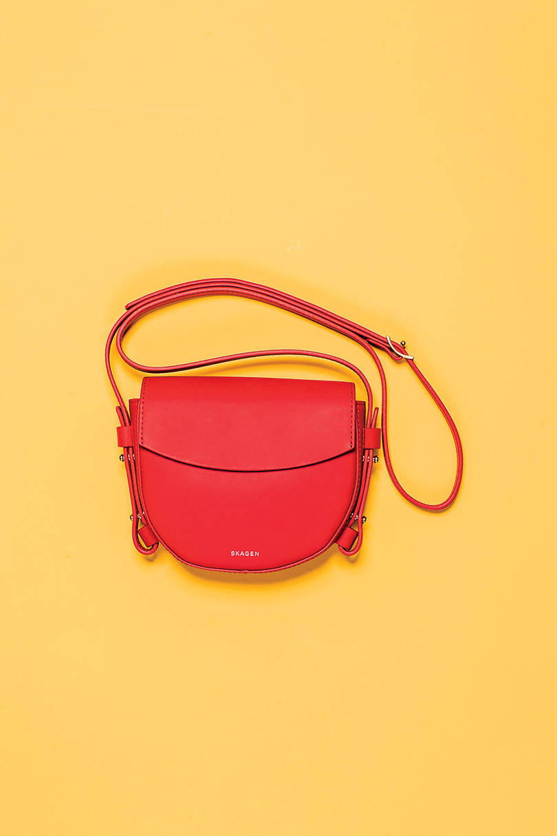 Small Red Crossbody
