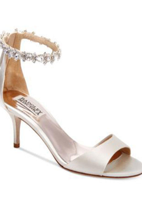 Southern Living Ivory Badgley Mischka Wedding Shoes