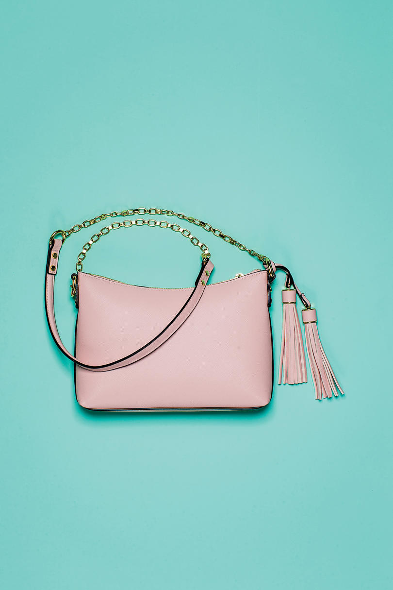 Chain Crossbody Pink