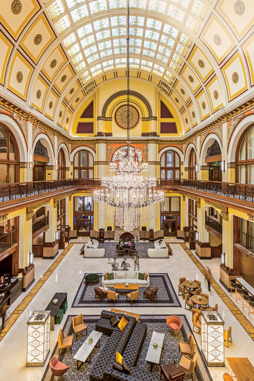 Union Station Hotel in Nashville, Tennessee