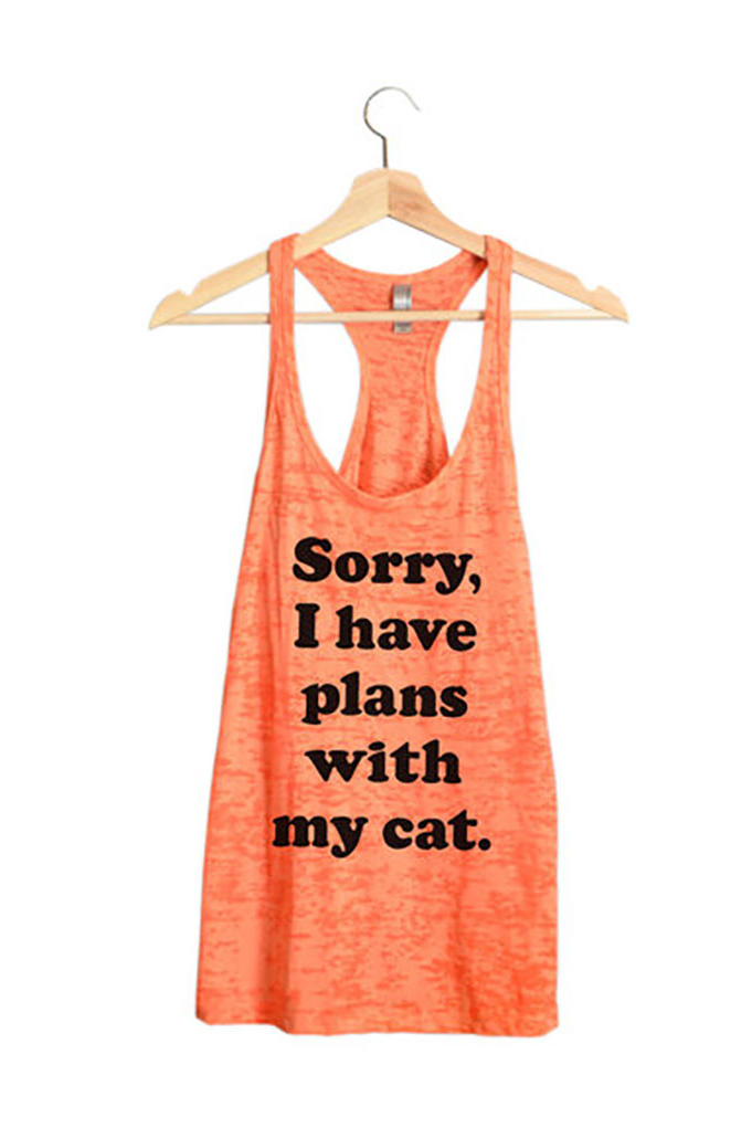 Plans With My Cat Tank
