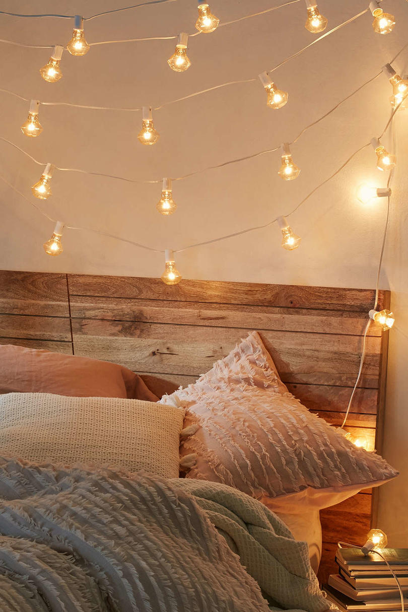 Dorm Safe String Lights : Stylish Dorm Room Decor Ideas - Southern Living
