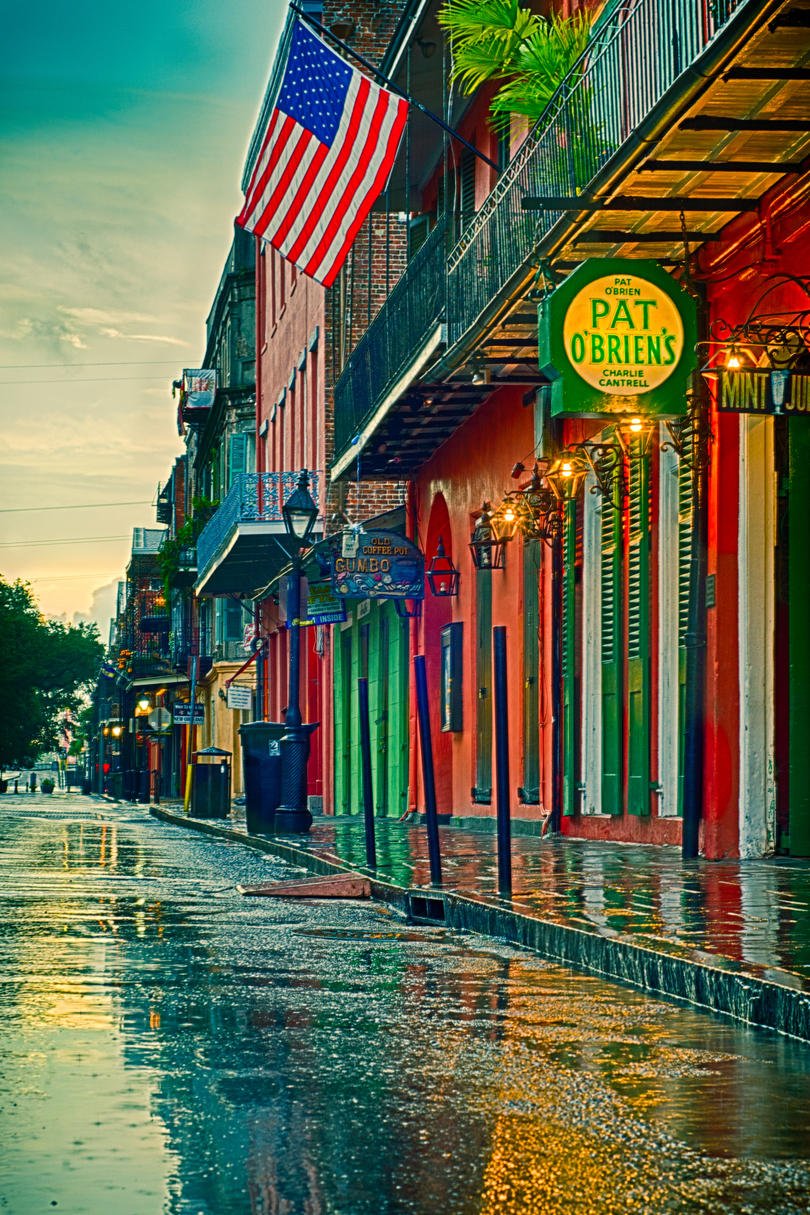South's Most Colorful Streets Bourbon Street, New Orleans (LA)