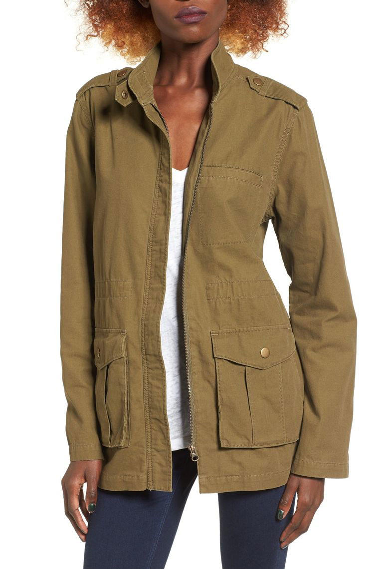 Cotton Canvas Anorak