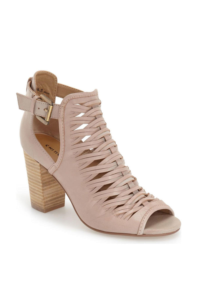Chinese Laundry Open Toe Bootie