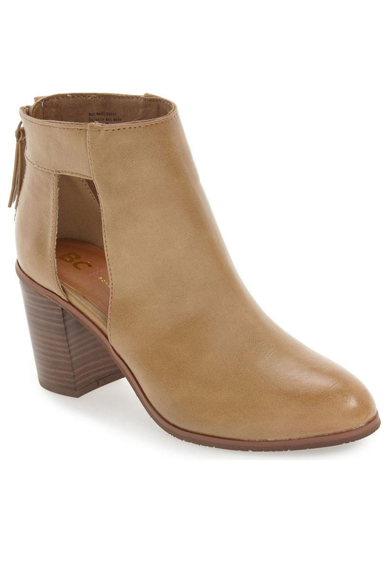 BC Footwear 'Combust' Cutout Bootie