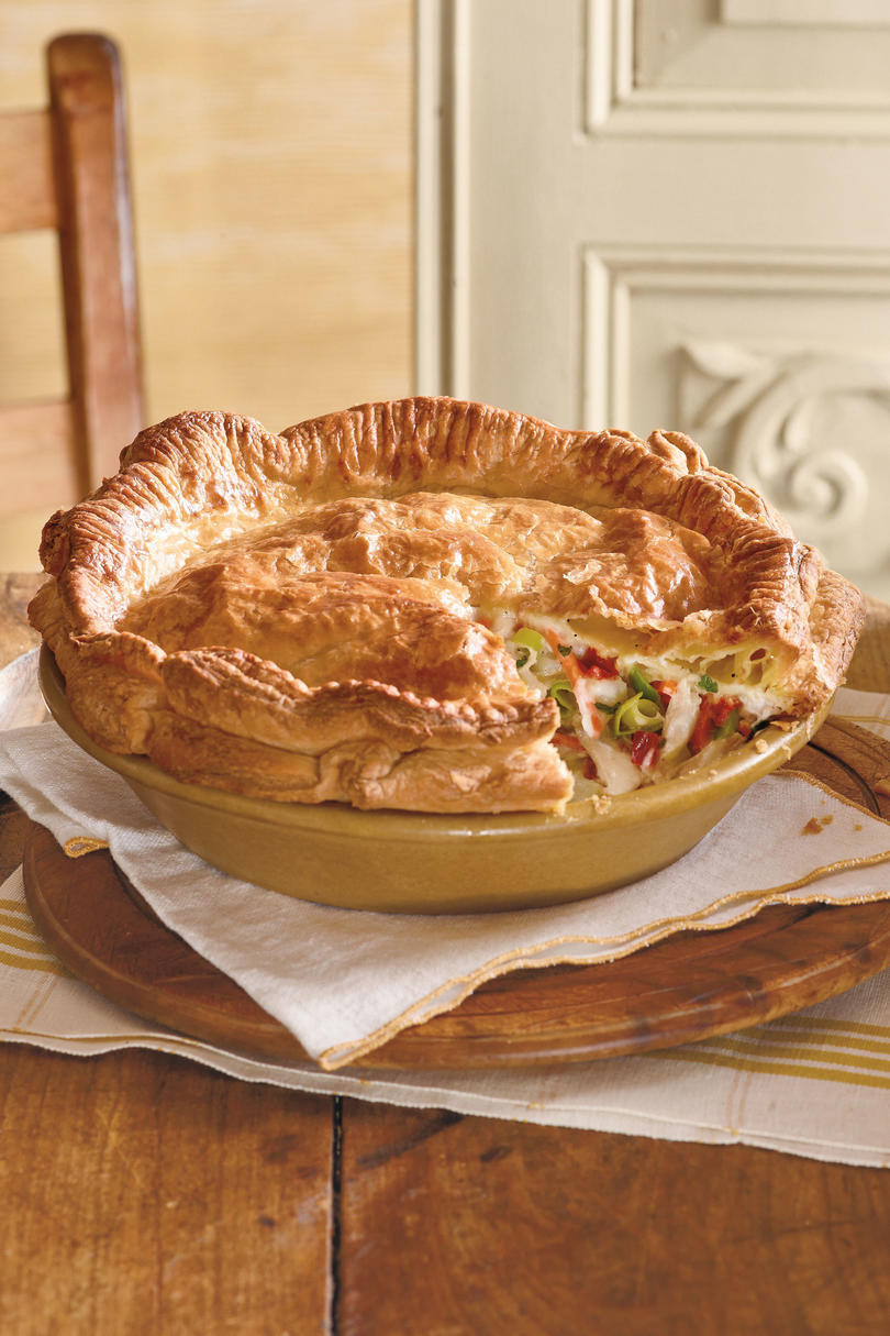 Double Crust Chicken Pot Pie
