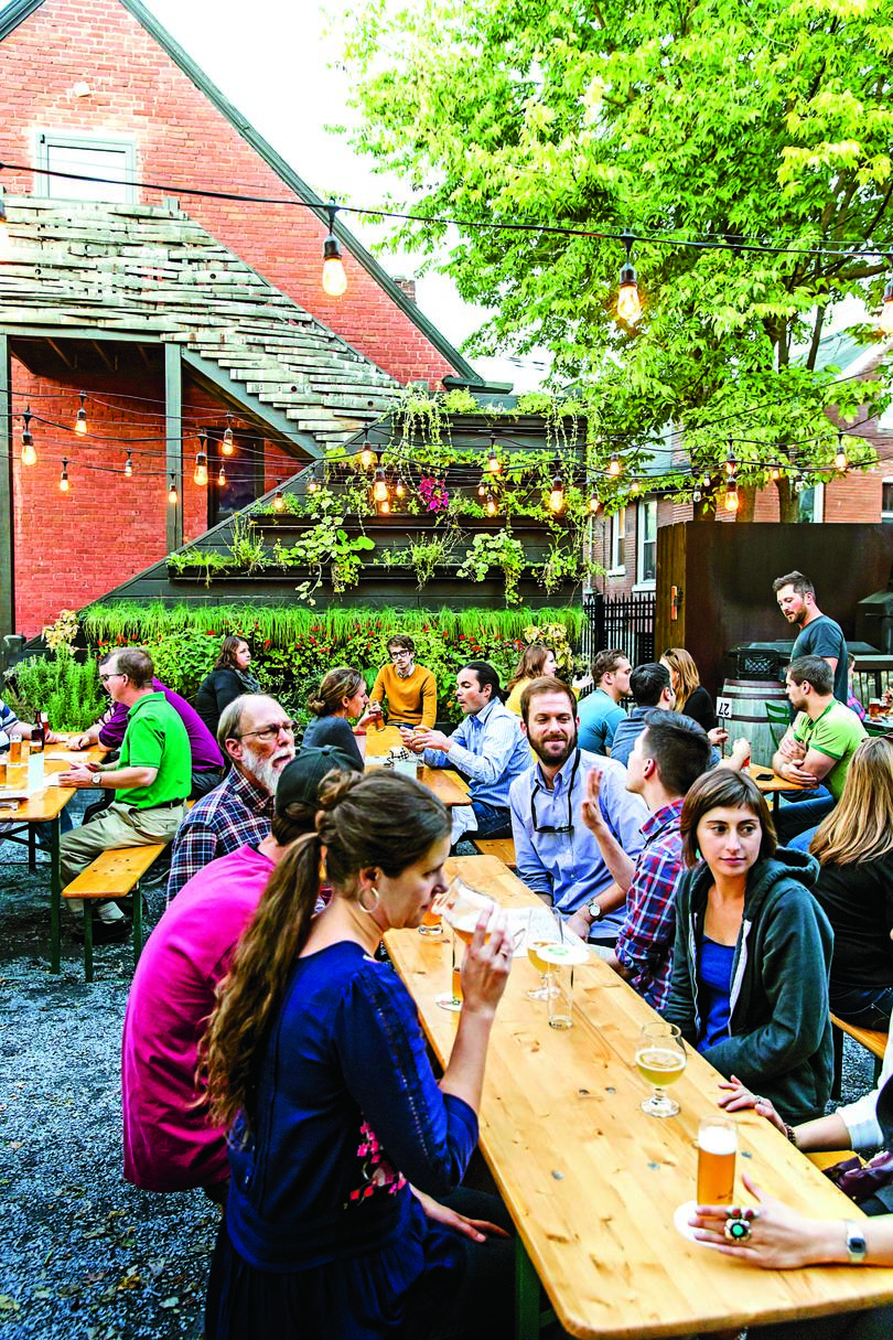 Springtime in the South Outdoor Drinking and Dining