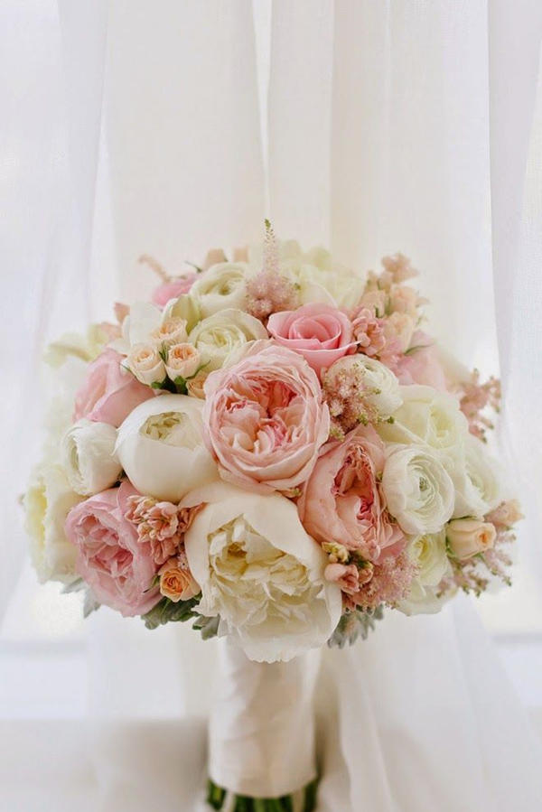 Peony Wedding Bouquets Romantic