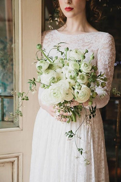 Ranunculus Wedding Bouquets Organic