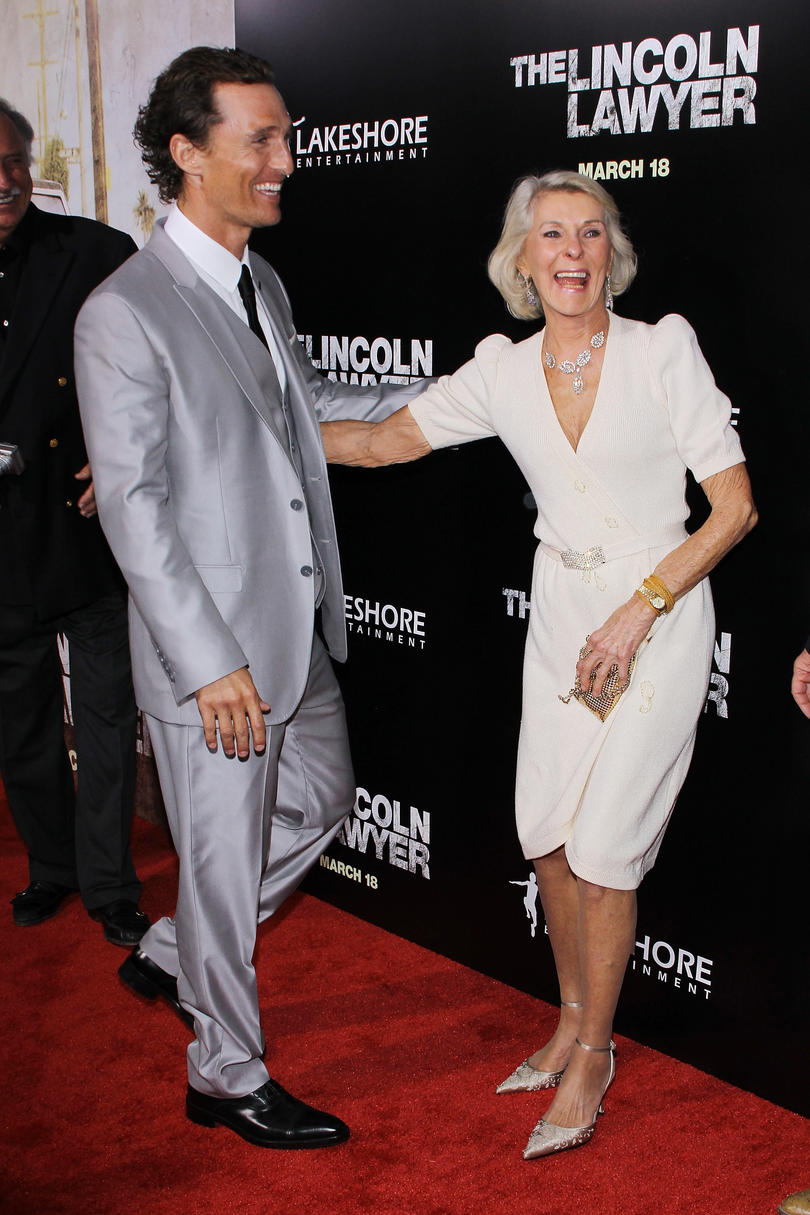Matthew McConaughey Mom Quotes Hollywood ambition