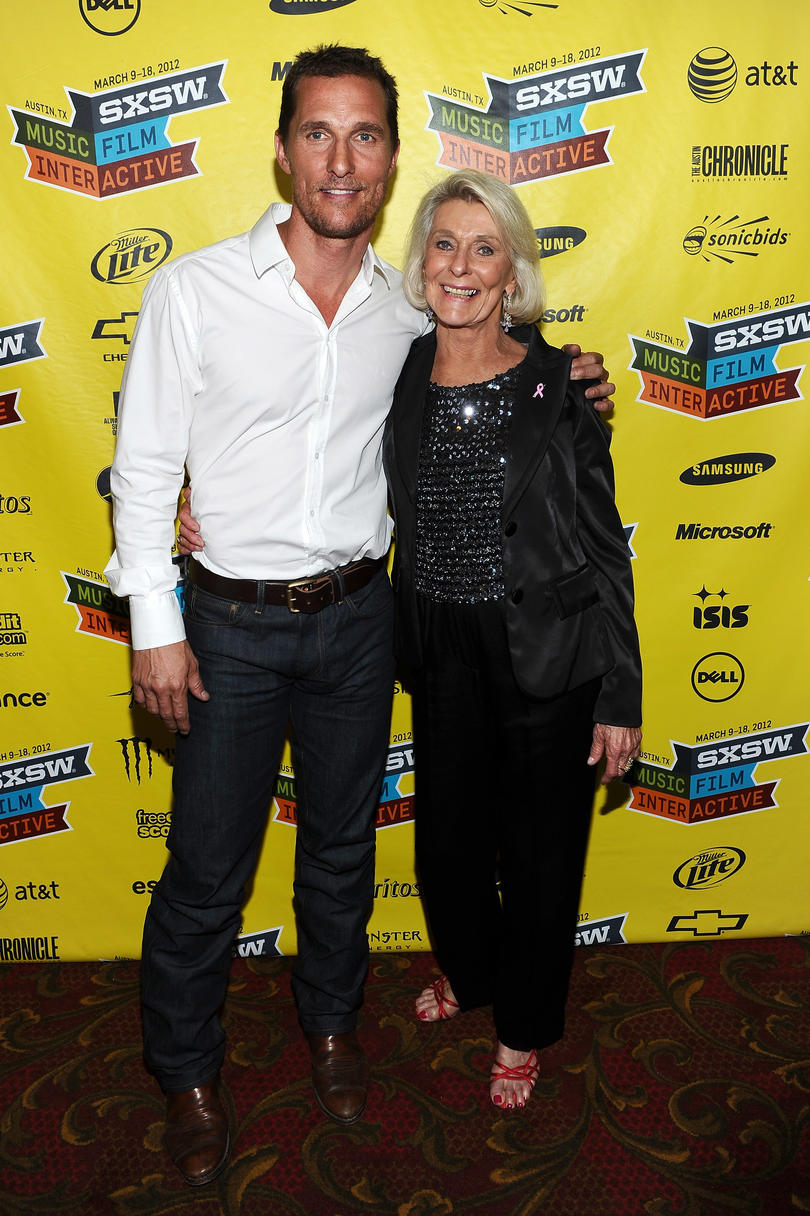 Matthew McConaughey Mom Quotes tough love