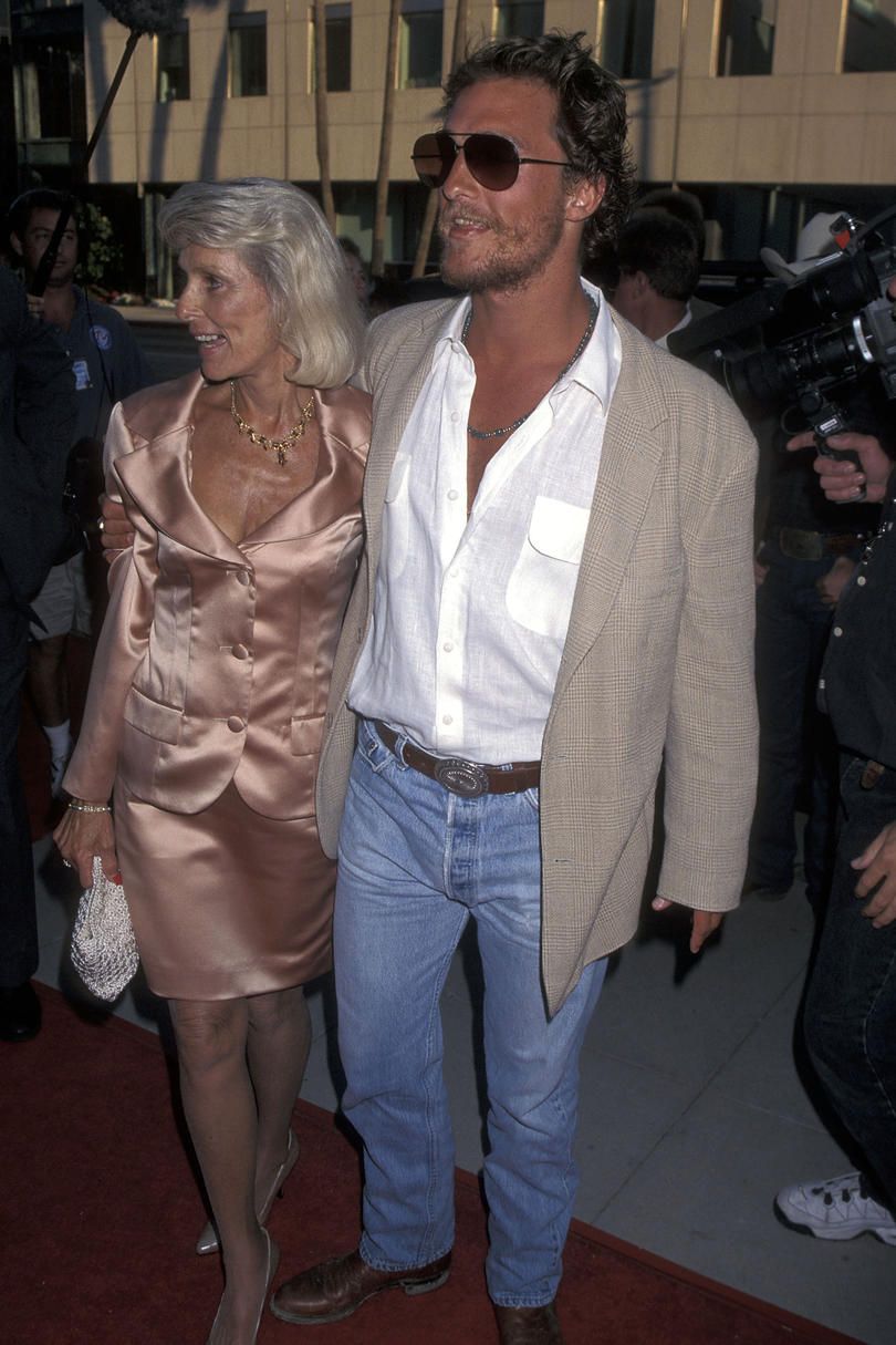 Matthew McConaughey Mom Quotes scared of her