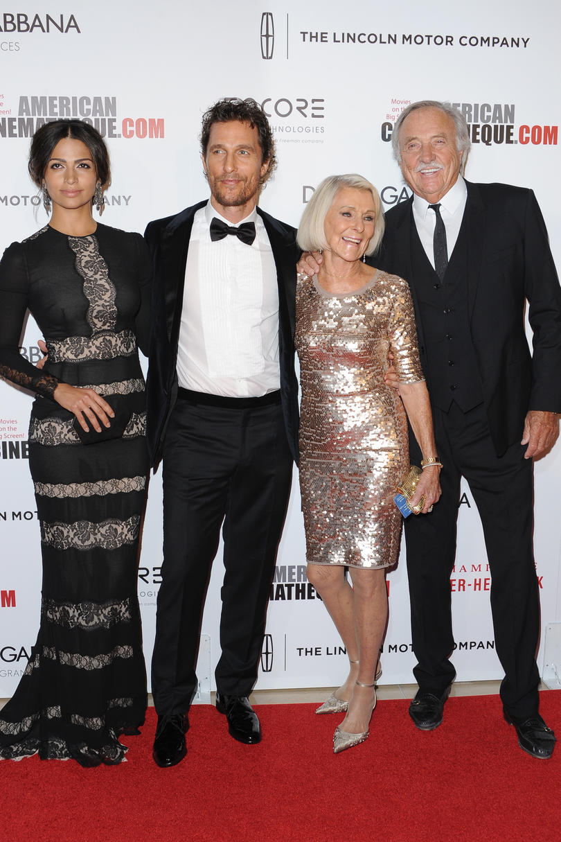 Matthew McConaughey Mom Quotes success