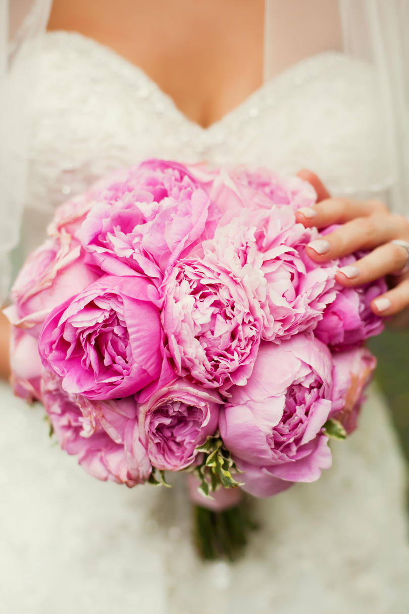 Peony Wedding Bouquets Striking